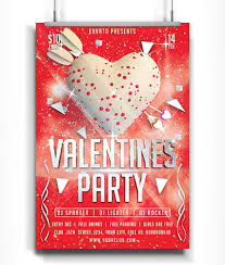 share the love valentine s day templates flyers and cards valentines day party flyer