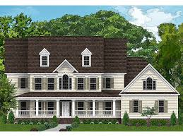 Country House Plans   Two Story Luxury Country Home Plan   H    Luxury Country Home  H