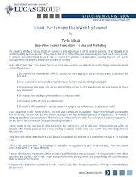 Importance Of A Resume Importance Of A Resume Part 4