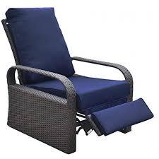 outdoor recliner outdoor wicker