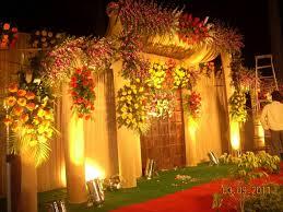 Flower Design For Marriage Marriage Garden Decoration