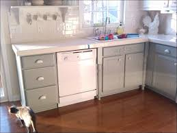 painting kitchen cabinets without sandingKitchen  Refinished Cabinets Before And After White Cupboard