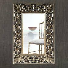 carved wood mirror frames fine carved wooden scroll leaf mirror frame in gold hand carved wooden
