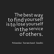Quote On Finding Yourself Best Of Mohandas Karamchand Gandhi Quote About Finding Yourself Awesome