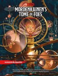 5th edition d d character sheet d d 5th edition presale mordenkainens tome of foes new ebay