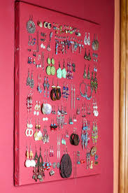 we changed bedrooms and i went from bright red walls to a completely diffe color dark gray i never got around to taking all of my earrings and