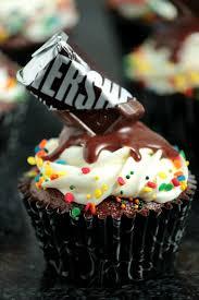 chocolate birthday cupcakes. Fine Birthday Chocolate Birthday Cupcakes With Melting Bar Effect Inside T