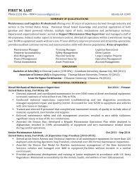 Download Military Resume Haadyaooverbayresort Com