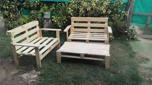 make your own outdoor furniture. pallet outdoor furniture set make your own