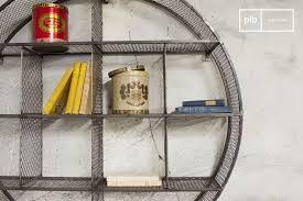 wall shelf flèxe practical loft furniture completely round