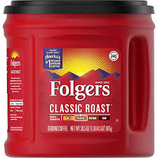 Folgers Coffee Chart Folgers Classic Roast Ground Coffee Medium Roast 30 5