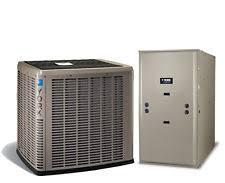 york split system. york affinity 2.0 ton 1 stage 16 series ac with ecm vs 96% afue 2 stg gas heat split system a