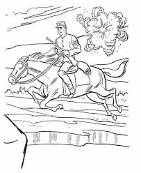 Small Picture Union cavalry Coloring Page American History Coloring Pinterest