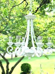 solar powered chandelier transform old chandelier into outdoor