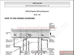audi s4 1993 system wiring diagrams auto repair manual forum audi s4 1993 system wiring diagrams size 10 4mb language english type pdf pages 113