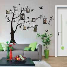 Tree Design Wallpaper Living Room Image Of Living Room Family Tree Wall Decal Art Wall Tree