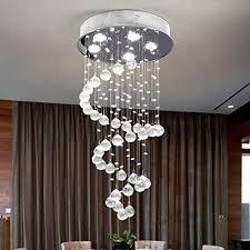 modern crystal chandelier rain drop