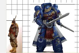 How Tall Are Space Marines Im Gathering References Page