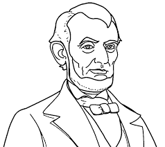 Abraham Lincoln President Abe Coloring Pages | Wecoloringpage