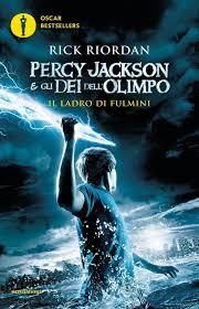 Il ladro di fulmini. Percy Jackson e gli dei dell'Olimpo: 1: Amazon.it:  Riordan, Rick, Baldinucci, L.: Libri