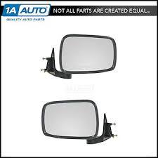 FOLDING MANUAL SIDE View Mirrors Pair Set for 86-93 Mazda B Series ...