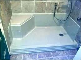 install shower base install fiberglass shower pan walk in shower pan shower pans for tile showers install shower base