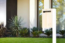 modern mailbox dwell. Image Of: Modern Mailboxes Post Mount Mailbox Dwell S