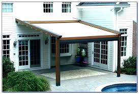awning for deck retractable canopy awnings diy outdoor cover re