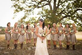 Vintage Country Style Wedding  Rustic Country Weddings Wedding Country Western Style Bridesmaid Dresses