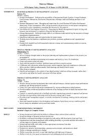 Product Analyst Resume Sample Product Development Analyst Resume Samples Velvet Jobs 8
