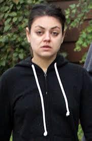 mila kunis no makeup