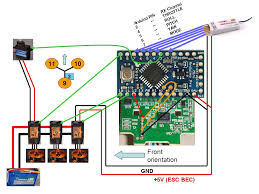 rc airplane servo wiring diagram images tricopter wiring diagram get image about wiring diagram
