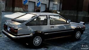 Toyota Sprinter Trueno AE86 Zenki for GTA 4