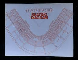 Wings Stadium Seating Chart Details About 1970s Rochester Red Wings All Time Team Silver Stadium Seating Chart