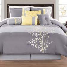 gray and yellow bedding. Plain Yellow Yellow And Grey Bedding Sets Orbnaouw Intended Gray L