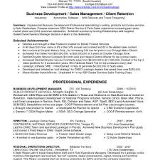 Sample Resume Business Development Manager Insurance Archives - Onda ...
