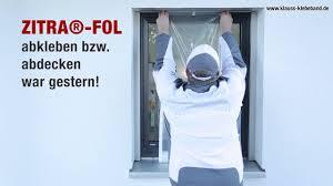 Fenster Abkleben Mit Malerfolie Abklebefolie Zitra Fol Youtube