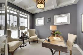 Small office ideas Small Spaces Beautiful Gray And White Office Designtrends 20 Small Office Designs Decorating Ideas Design Trends Premium