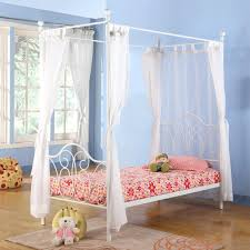 decoration s canopy bed frame full size of metal twin with