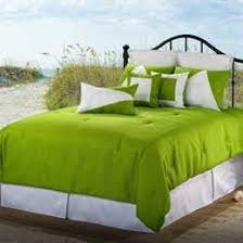 Lime Green Bedding, Neon Green Comforter Sets & Quilts & Victor Mill Latitude Bed Covers (Green) Adamdwight.com