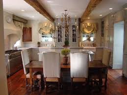 french country chandelier kitchen traditional with a front sinks decor lighting