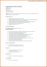 Grocery Store Cashier Resume Inspiration Grocery Store Cashier Resume Kenicandlecomfortzone