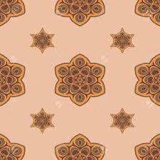 Boho Patterns Extraordinary Seamless Brown Background Boho Chic A Series Of Universal Patterns