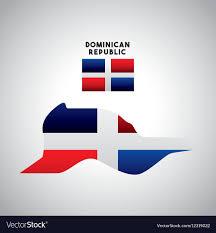 Dominican Flag Design Dominican Republic Country Design