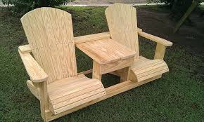 double adirondack chair plans. Double Adirondack Chair Plans By My Year Old Grandson In Seat  I