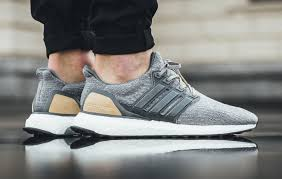 a more premium variation of the popular adidas ultra boost 3 0 will be releasing as this particular version is highlighted by a leather caging system and