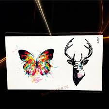 игральные карты татуировки для женщин металлик долговечные красочные татуировки