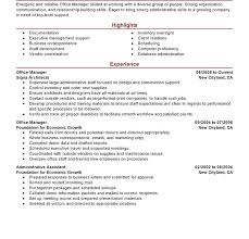 Office Manager Resume Template Stunning Front Office Manager Resume Objective Curriculum Vitae Sample Hotel