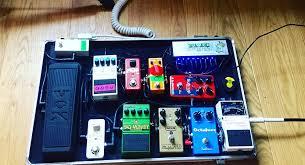 pedalboard setup idea 2
