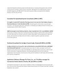 Sample Resume For Bank Jobs